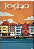 WANGJINGJING High Pixel Poster New Hot Tourism World Travel