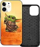 Funda para iPhone 11 de Baby Yoda, ultradelgada y antideslizante, de grado militar, a prueba de golpes y anticaída, compatibilidad con iPhone 11 de 6,1 pulgadas