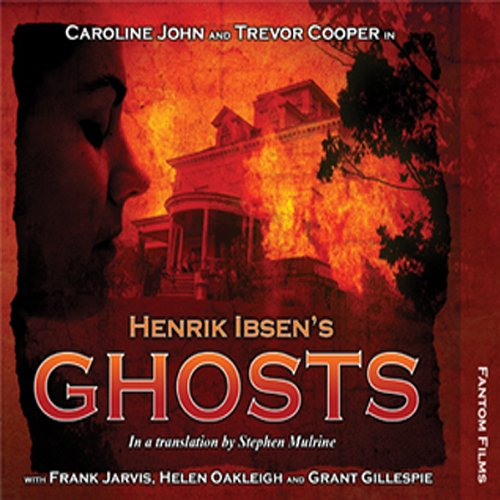 Henrik Ibsen's Ghosts audiobook cover art