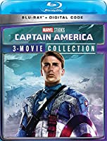 Captain America: 3-Movie Collection (Marvel) [Blu-ray]