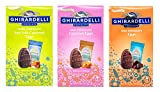 Ghirardelli Easter Egg Shaped Chocolate Candy Variety, Pack of 3 from Ghirardelli