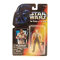 STAR WARS POWER OF THE FORCE LUKE SKYWALKER FIGURE IN DAGOBAH FATIGUES