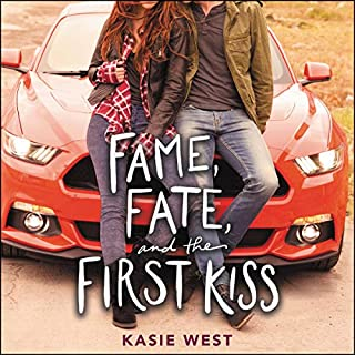 Fame, Fate, and the First Kiss                   Written by:                                                                                                                                 Kasie West                               Narrated by:                                                                                                                                 Caitlin Kelly                      Length: 7 hrs and 59 mins     1 rating     Overall 4.0