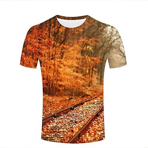 Survivcorner Fun Mens Casual Popular Logo Roots Graphic Short Sleeve T Shirts