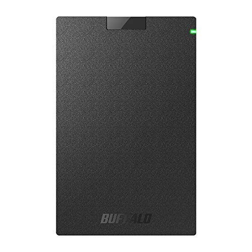 BUFFALO ポータブルSSD 日本製 PS4(メーカー動作確認済) USB3.1(Gen1) 対応 1TB SSD-PG1.0U3-B/NL 耐衝撃・...