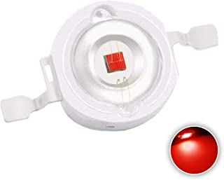 10 pcs High Power Led Chip on Board 3W Red (700mA/DC 2.2V-2.6V/3 Watt) Super Bright Intensity SMD COB Light Emitter Components Diode 3 W Bulb Lamp Beads DIY Lighting