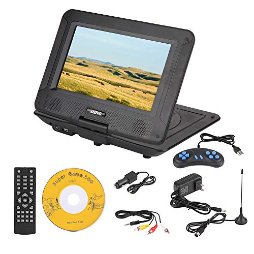 Sale!! fosa Portable DVD Player 9.8in 3D Stereo Car DVD Player Game Playing Console Hundreds of TV C...