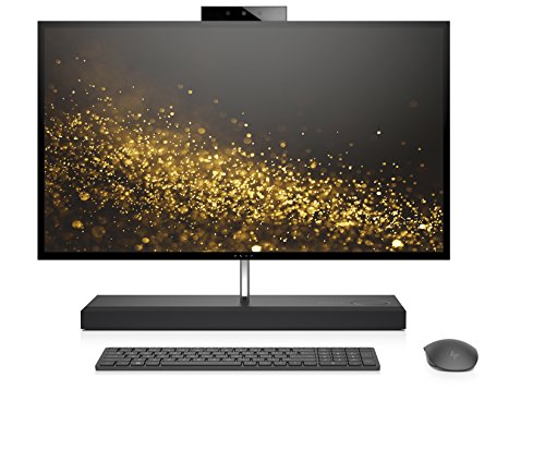 HP ENVY 27-b257ng (27 Zoll QHD Touch) All-in-One PC (Intel Core i7-8700T, 16GB DDR4, 1TBHDD, 256GB SSD, Nvidia GeForce GTX 1050 4 GB GDDR5, Windows 10) schwarz