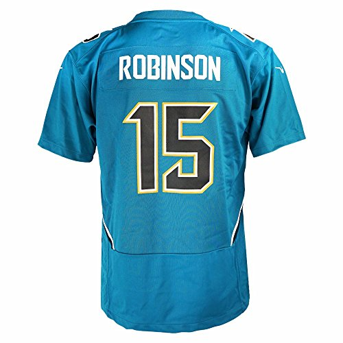 Nike Allen Robinson Jacksonville Jaguars NFL Teal Game Team Jersey for Youth (M)