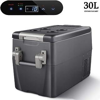 + Calor Caja Grande 40/L 12/V Bolsa Nevera para Coche y Enchufe a 40/cm de Altura Relaxdays Nevera Port/átil El/éctrica para Empujar 230/V Gris