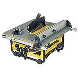 DeWalt Tischkreissäge DW745 – Leistungsstarke Säge mit Parallel- und Gehrungsanschlag für...