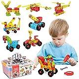 LUKAT Bausteine Spielzeug ab 3 4 5 6 7 8 Jahren...