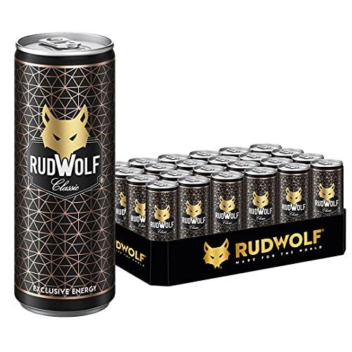 RUDWOLF Classic Energy Drink (Tray a 24 Dosen) inkl. 6 € Pfand