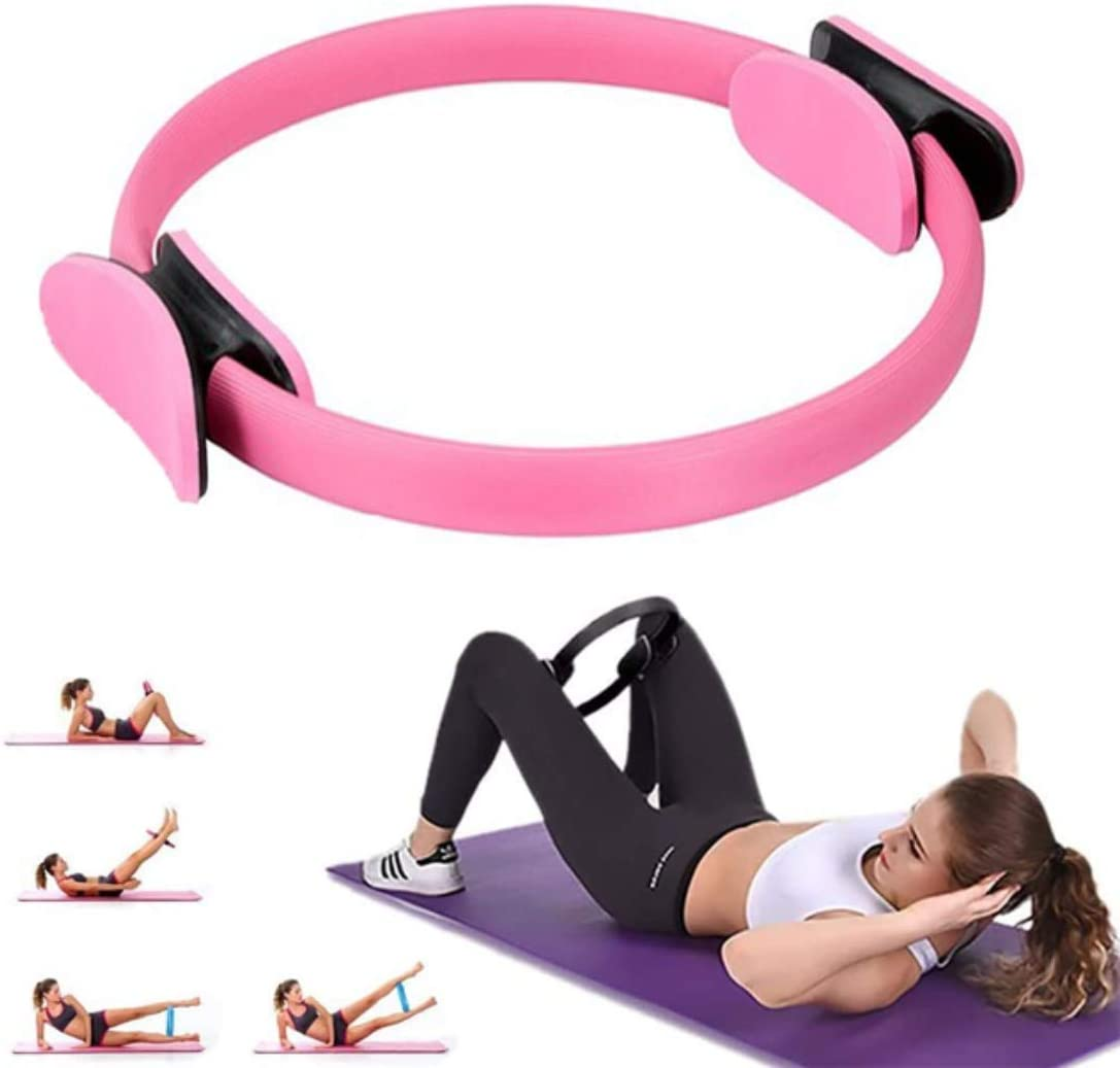 Pilates Ring, Yoga Pilates Circle Pilate Exercise Rings for Thighs Magic  Circle Inner Thigh Exercise Equipment for Toning Inner Thighs, Body ...
