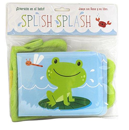 Splish-Splash. Rana (Libros para el baño)