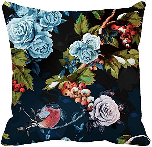 MODORSAN Kissenbezug Neutral Hi-Tech-Platine in grauen Farben Engineering Home Sofa Dekorativ 18'x18' Kissenbezug Fall-Kissenbezug 20