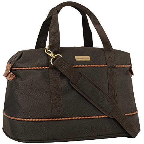 Tommy Bahama Mojito 20-inch Duffel Bag, Dark Brown, One Size