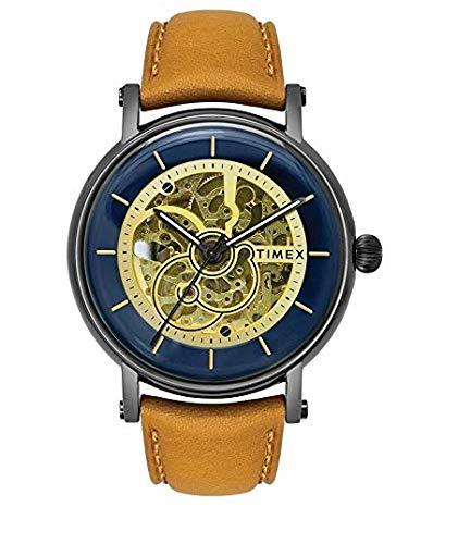 Timex 21 Jewel Automatic Analog Blue Dial Men's Watch-TWEG16711