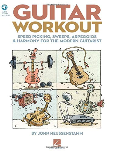 Guitar Workout - Speed Picking, Sweeps, Arpeggios And Harmony For The Modern Guitarist: Lehrmaterial, CD für Gitarre