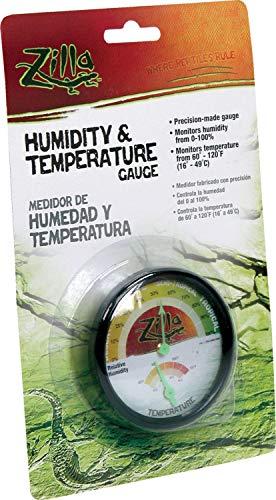 Zilla Humidity & Temperature Gauge