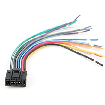 amazon.com: xtenzi car radio wire harness compatible with kenwood cd dvd  navigation in-dash - xt91016: car electronics  amazon.com