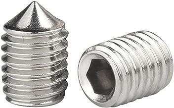 M1.6-M30 Arandelas de Metal Junta Mes/ón Cierre Componentes Acero Inoxidable 304 Plata Xiedeai Tornillos Arandelas Planas