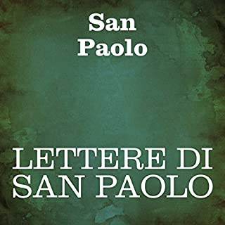 Lettere di San Paolo [The Letters of St. Paul] audiobook cover art