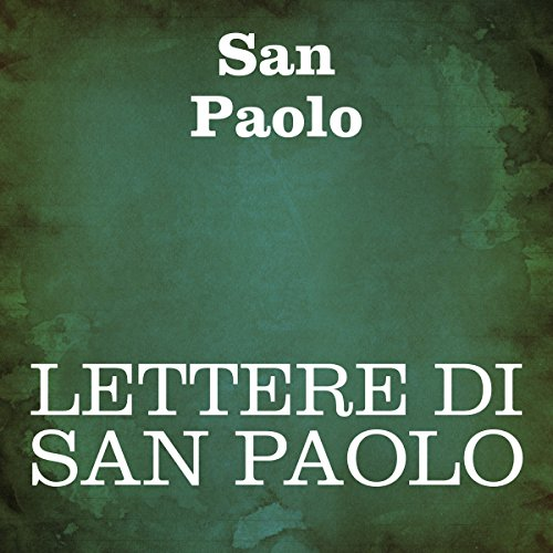 Couverture de Lettere di San Paolo [The Letters of St. Paul]