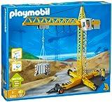 Playmobil - 3262 - La Vie de Chantier - Grue de chantier