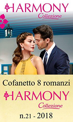 Cofanetto 8 Harmony Collezione n.21/2018 (Cofanetto Collezione Vol. 21)