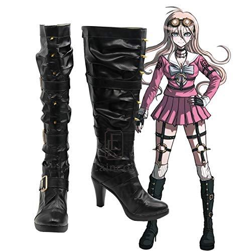 WSJDE Anime Danganronpa V3: Killing Harmony Iruma Miu Cosplay Shoes Girls Halloween Carnival Boots Custom-made