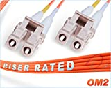 FiberCablesDirect - 200M OM2 LC LC Fiber Patch...