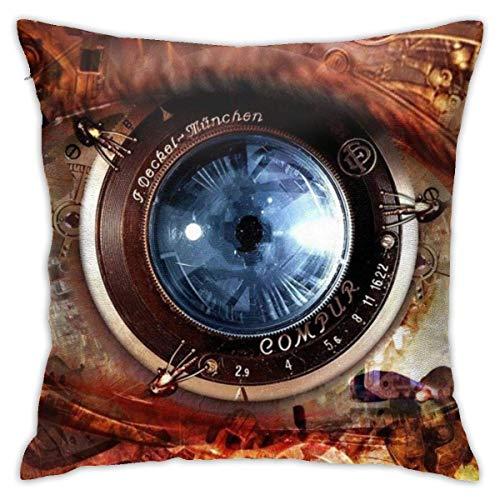 Gear Steampunk Soft Square Throw Pillow Covers Cushion Case 45X45CM