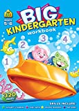 Big Kindergarten Activity Workbook Ages 5-6, Alphabets,Colours & Shapes, Numbers 0-12, Transition Maths,Reading