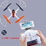 Cewaal Drone avec la caméra de 2.0MP HD, 360º bascule un mode automatique de retour...