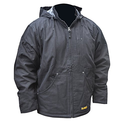 DEWALT DCHJ076A Heated Heavy Duty Work Coat Kit with 2.0Ah Battery and Charger