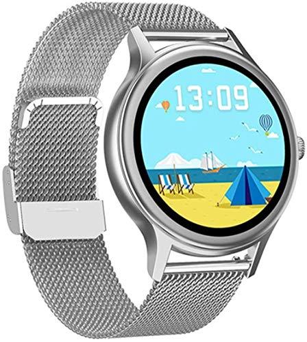 Reloj inteligente para Android2021 con monitor de ritmo cardíaco, resistente al agua, para hombre y mujer, reloj inteligente