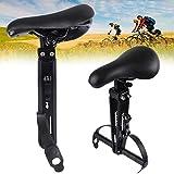 KongLyle Kids Bike Seat for Mountain Bikes, Detachable Front Mounted Bicycle Seats