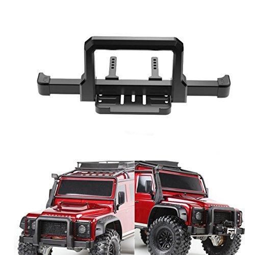 1Set Acero delantera/trasera parachoques para Traxxas trx41/10Crawler Auto