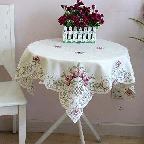 Couverture Serviette Nappe Broderie de Jardin Nappe Chiffon Tissu A de 22x22inch Table 55x55cm Linge Table Frais DXG de Table FX Ajouré 80mwvNnO