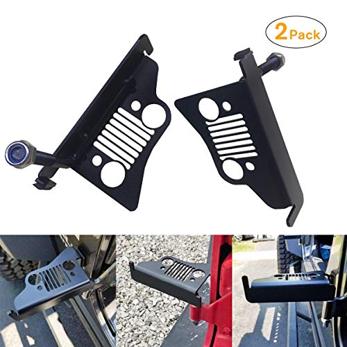 ANSITE Grill Style Steel Foot Pegs for 2 doors & 4 doors