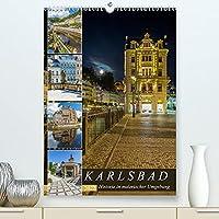 KARLSBAD Historie in malerischer Umgebung (Premium, hochwertiger DIN A2 Wandkalender 2022, Kunstdruck in Hochglanz): Highlight im Westboehmischen Baederdreieck (Monatskalender, 14 Seiten )