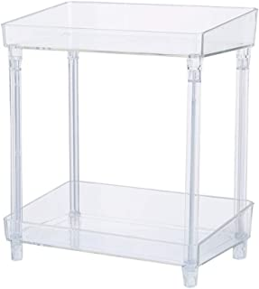SAP - Boîte de rangement pour cosmétiques à la maison PP de bureau grande capacité - Économie d'espace, PP, transparent, L...