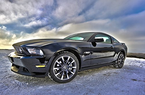 Wandbild 200x115cm selbstklebend Ford Mustang Autos Foto Kunst Wandbilder Poster XXL ws30