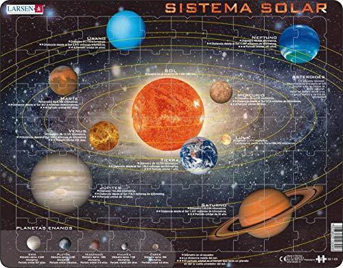Larsen SS1 Sistema Solar, edición en Español, Puzzle de Ma