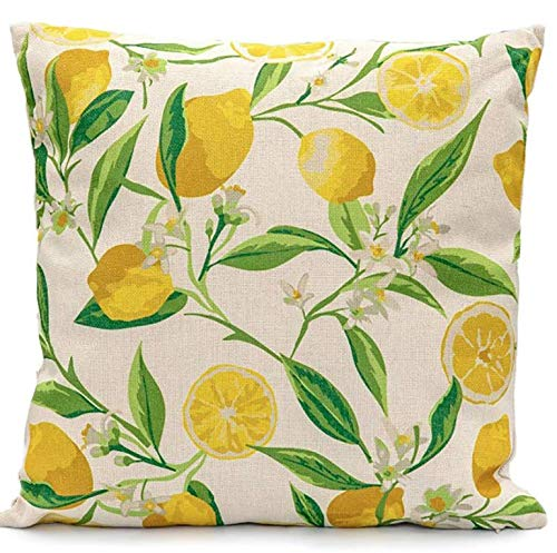 Leisuregrow Ltd LGSC1906 Lemon Tree Scatter Cushion