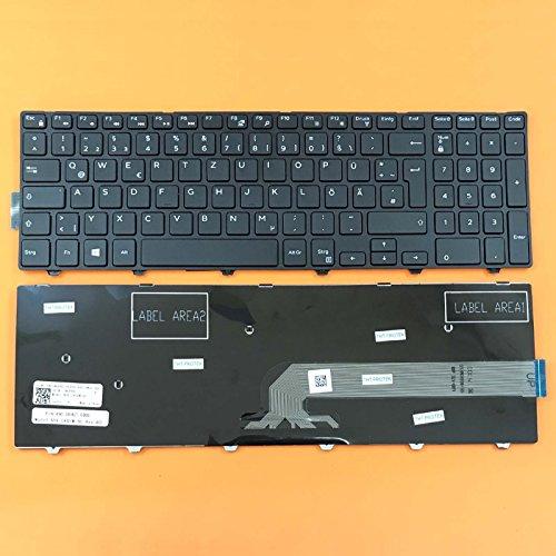 kompatibel für DELL Inspiron 15-5547, 15-5545 Tastatur - Farbe: schwarz - Deutsches Tastaturlayout