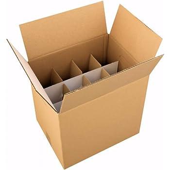 Lot de 100 Cartons spéciaux pour expédier 1 bouteille