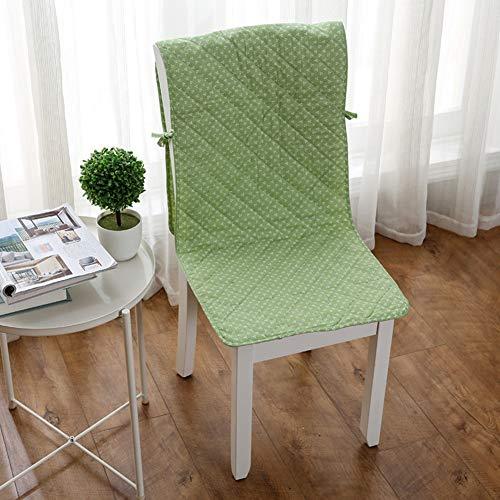 GX&XD Baumwolle Quilting Esszimmer Stuhlüberzug Drucken Eins-stück Stuhlhussen Mat Hoch Zurück Stuhl Sitz Kissen Protektoren Slipcover-f 44x135cm(17x53inch)