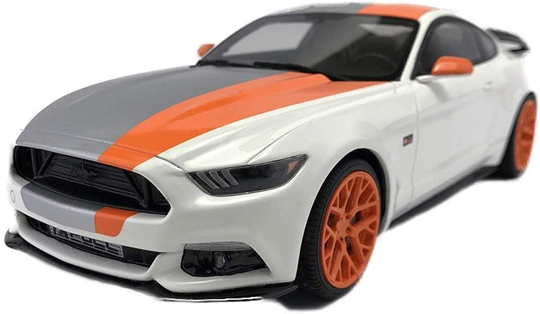 tienda de ventas outlet Maisto 1 18 Ford Shelby Mustang GT500 2105 Sports Coche Coche Coche Original Alloy Coche Model Metal Coche Ornaments Collection Modelos Escala Vehículos ( Color   blanco )  alta calidad y envío rápido